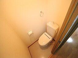 グレイス今池の温水洗浄暖房便座付トイレ