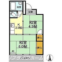 かがやきビル[3階]の間取り