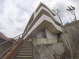 兵庫県西宮市上ケ原山田町の賃貸マンションの外観