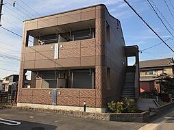 愛知県稲沢市六角堂東町4丁目の賃貸アパートの外観