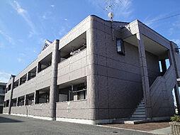 愛媛県松山市居相5丁目の賃貸アパートの外観