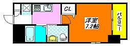 M'プラザ小阪駅前 1101号室[11階]の間取り