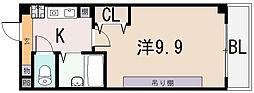 桜ヶ丘晴楽館[4階]の間取り