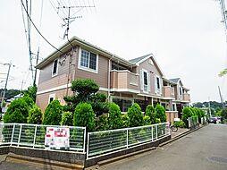 東京都町田市木曽西5の賃貸アパートの外観