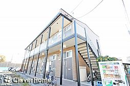 神奈川県相模原市中央区由野台2丁目の賃貸アパートの外観