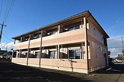 群馬県高崎市下大類町の賃貸アパートの外観