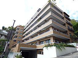 兵庫県神戸市中央区諏訪山町の賃貸マンションの外観