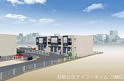 仮)東二島3丁目新築アパート[1階]の外観