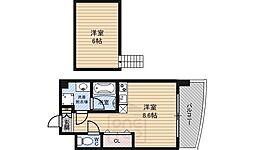 ドリームネオポリス鶴見3[7階]の間取り