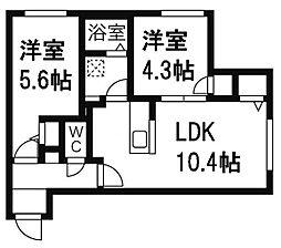 Maison de K[3階]の間取り