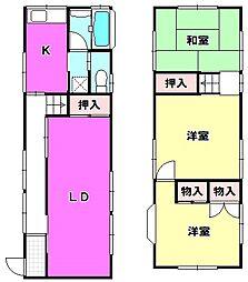 [一戸建] 東京都江戸川区南小岩6丁目 の賃貸【/】の間取り