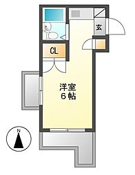 メゾン・ド・セゾン[3階]の間取り