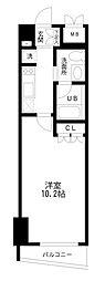 レジディア幡ヶ谷[6階]の間取り