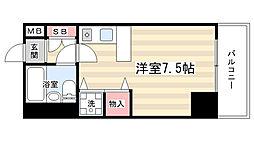ライオンズマンション京都東堀川[2階]の間取り