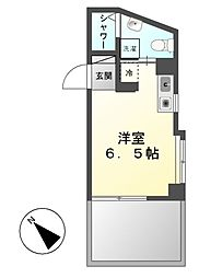 神奈川県川崎市高津区新作4丁目の賃貸マンションの間取り