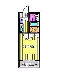 とぴあ行徳[203号室]の間取り