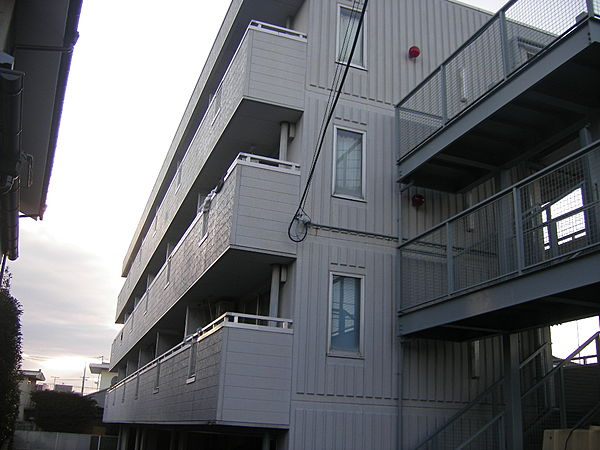ロマーヌ水戸第1[402号室]の外観