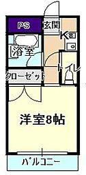 本郷サンロイヤル A棟[4階]の間取り