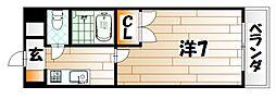 トーケン設計戸畑駅前I[4階]の間取り
