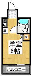 東和プラザB館[5階]の間取り