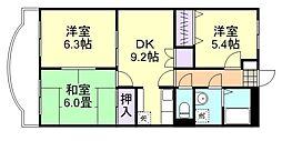 ファミーユK・A・YII[202号室]の間取り