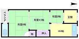 [テラスハウス] 大阪府大阪市住吉区長居東1丁目 の賃貸【/】の間取り