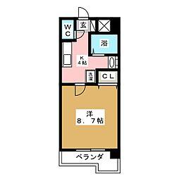 アムールシャトー[8階]の間取り