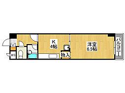 レトワール小路[8階]の間取り