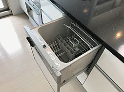 食洗機付きで洗い物も楽々