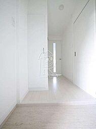 メイソンデグレース天神南の高級感のある玄関ですね。
