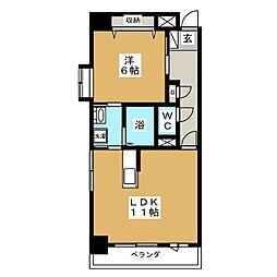 Gran ville 39's[5階]の間取り