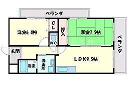MAISON SAKURA16[3階]の間取り