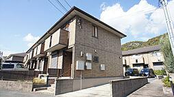 兵庫県神戸市北区山田町下谷上字芝の賃貸アパートの外観