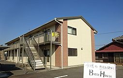 福岡県八女郡広川町大字広川の賃貸アパートの外観