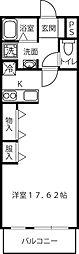 静岡県浜松市中区助信町の賃貸アパートの間取り
