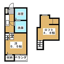 New Life博多駅東[2階]の間取り