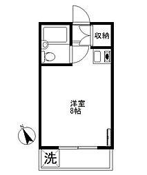 グレース北沢[3階]の間取り