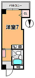 ジョイフル東洋[3階]の間取り