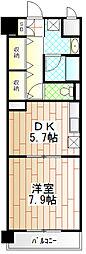 神奈川県相模原市中央区高根1丁目の賃貸マンションの間取り