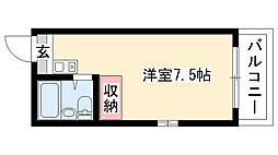 愛知県名古屋市昭和区広路町字梅園の賃貸マンションの間取り