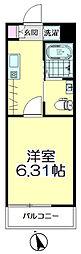 (仮称)青葉区台原共同住宅A棟[202号室]の間取り