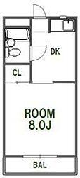 BIZAN21[305号室]の間取り
