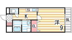 メイプルハウス[3階]の間取り