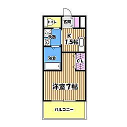 美山住休軒館[2階]の間取り
