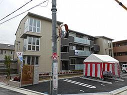 大阪府八尾市植松町5丁目の賃貸アパートの外観