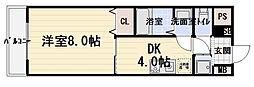 さんさん千林[804号室]の間取り