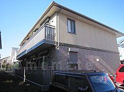 東京都三鷹市井口2丁目の賃貸アパートの外観