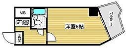 ライオンズマンション神戸元町第2[8階]の間取り