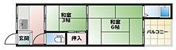 諏訪荘B棟[2階]の間取り
