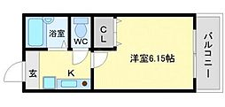 メゾンコライユ[2階]の間取り